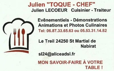 Julien Toque Chef