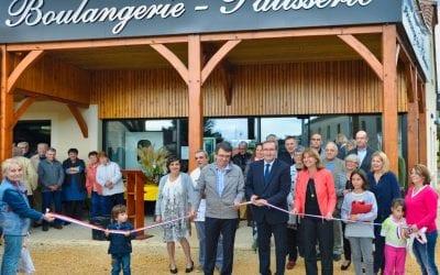 Inauguration de la boulangerie