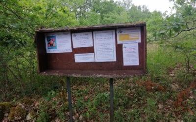 Tous les panneaux d'information municipale ont été nettoyés et actualisés.