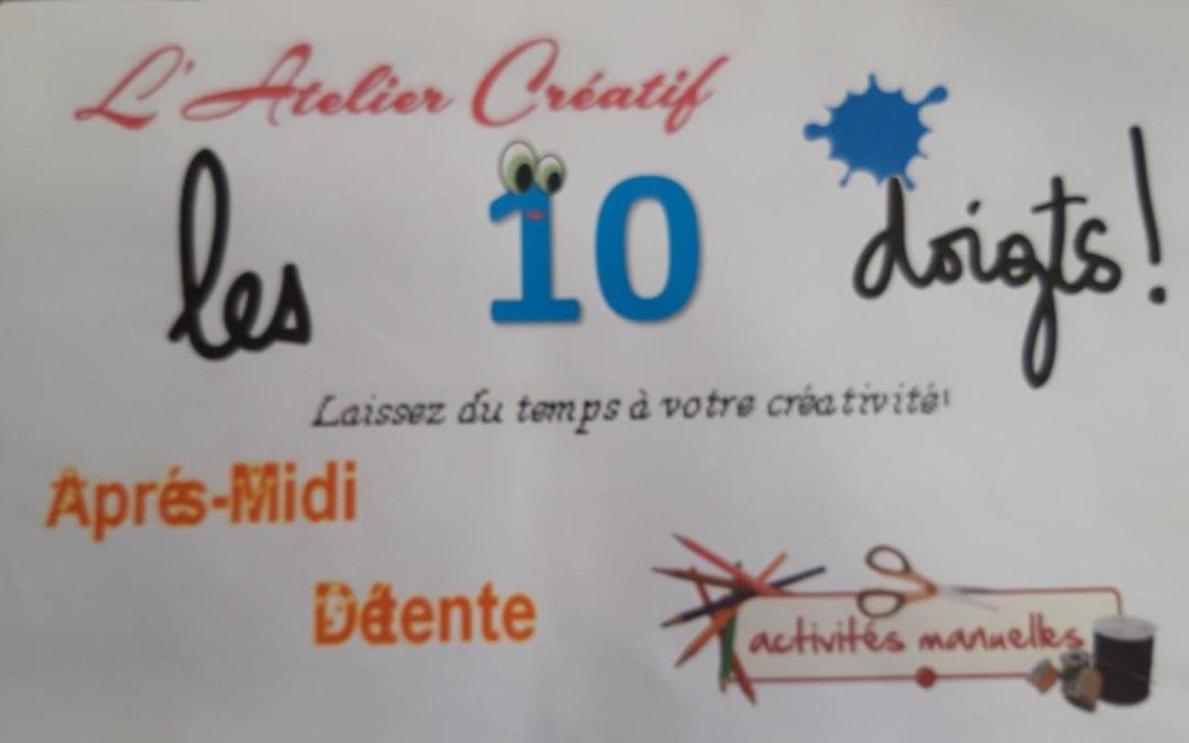 L'association Les dix doigts reprends ses activités !!