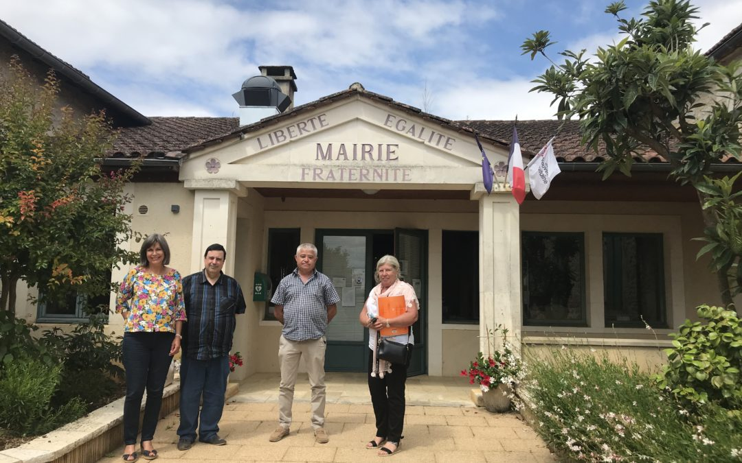 Visite de Jacqueline Dubois, Députée de la Dordogne
