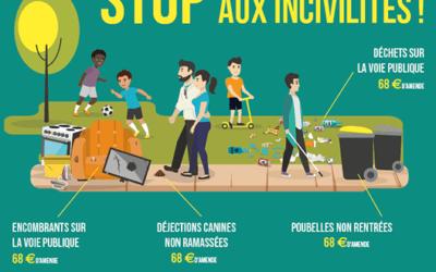 Stop aux incivilités sur les aires de déchets !!
